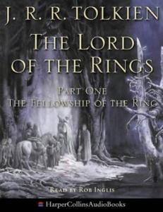 The Fellowship Of The Ring Rob Inglis Audio Cd
