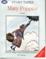 Mary Poppins written by P.L. Travers performed by Maggie Smith and Robert Stephens on Cassette (Abridged)