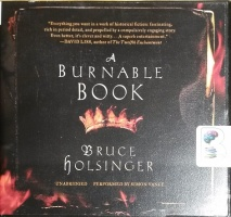 A Burnable Book written by Bruce Holsinger performed by Simon Vance on CD (Unabridged)