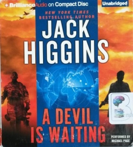 A Devil is Waiting written by Jack Higgins performed by Michael Page on CD (Unabridged)