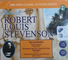 Best of Robert Louis Stevenson written by Robert Louis Stevenson performed by Roger Blake, Ian Holm and Denis Lawson on CD (Abridged)