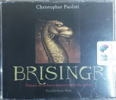 Brisingr - Part 3 of the Inheritance Cycle Series written by Christopher Paolini performed by Kerry Shale on CD (Abridged)