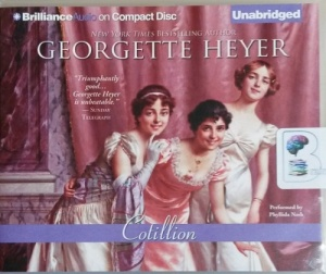 Cotillion written by Georgette Heyer performed by Phyllida Nash on CD (Unabridged)