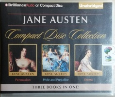 Jane Austen Collection - Persuasion - Pride and Prejudice - Emma written by Jane Austen performed by Sharon Williams and Michael Page on CD (Unabridged)