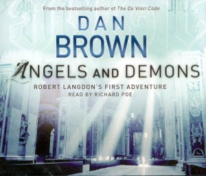 Angels and Demons written by Dan Brown performed by Richard Poe on CD (Abridged)