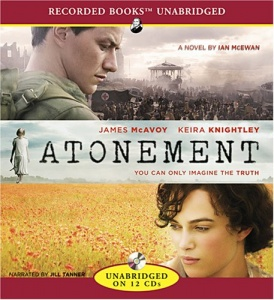 Atonement written by Ian McEwan performed by Jill Tanner on CD (Unabridged)