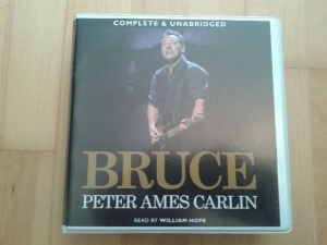 Bruce written by Peter Ames Carlin performed by William Hope on CD (Unabridged)