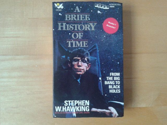 A Brief History Of Time Written By Stephen Hawking Performed By Michael Jackson On Cassette Unabridged