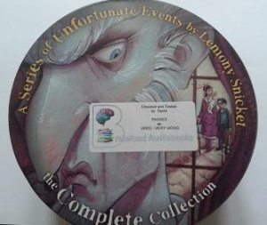 A Series of Unfortunate Events - The Complete Collection written by Lemony Snicket performed by Tim Curry and Lemony Snicket on CD (Unabridged)