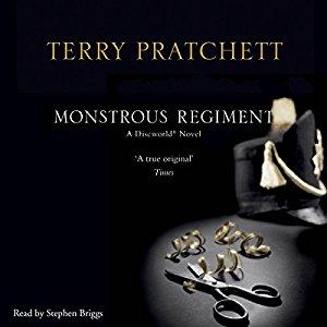 Monstrous Regiment written by Terry Pratchett performed by Stephen Briggs  on CD (Unabridged)