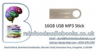 16GB MP3 USB Stick for Audio Transfer Service