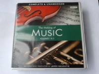 The Making of Music Volumes 1 and 2 written by James Naughtie performed by James Naughtie on CD (Unabridged)