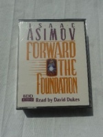 Forward the Foundation written by Isaac Asimov performed by David Dukes on Cassette (Abridged)