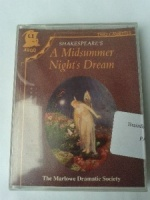 A Midsummer Night's Dream written by William Shakespeare performed by Marlowe Dramatic Society, Frank Duncan, Joan Hart and Ian McKellen on Cassette (Unabridged)