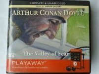 The Valley of Fear written by Arthur Conan Doyle performed by Derek Jacobi on MP3 Player (Unabridged)