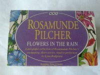 Flowers in the Rain and Other Stories written by Rosamunde Pilcher performed by Lynn Redgrave on Cassette (Abridged)