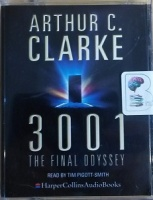 3001 - The Final Odyssey written by Arthur C. Clarke performed by Tim Pigott-Smith on Cassette (Abridged)