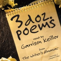 3 doz. poems written by Various Famous Poets performed by Garrison Keillor on CD (Abridged)