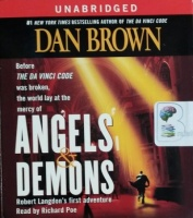 Angels and Demons written by Dan Brown performed by Richard Poe on CD (Unabridged)