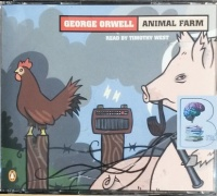 Animal Farm written by George Orwell performed by Timothy West on CD (Unabridged)