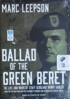 Ballad of the Green Beret written by Marc Leepson performed by David de Vries on MP3 CD (Unabridged)