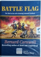 Battle Flag - The Third Nathaniel Starbuck Novel written by Bernard Cornwell performed by Hayward Morse on Cassette (Unabridged)