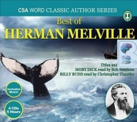 Best of Herman Melville written by Herman Melville performed by Bob Sessions and Christopher Timothy on CD (Abridged)