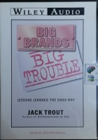 Big Brands - Big Trouble - Lessons Learned the Hard Way written by Jack Trout performed by Jeff Woodman on CD (Abridged)