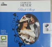 Black Sheep written by Georgette Heyer performed by Barbara Leigh-Hunt on CD (Unabridged)