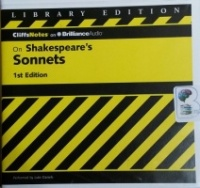 CliffsNotes - Shakespeare's Sonnets written by James K. Lowers performed by Luke Daniels on CD (Abridged)