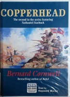 Copperhead - The Second Nathaniel Starbuck Novel written by Bernard Cornwell performed by Hayward Morse on Cassette (Unabridged)