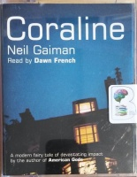 Coraline written by Neil Gaiman performed by Dawn French on Cassette (Abridged)
