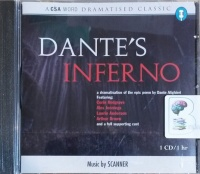 Dante's Inferno written by Dante Alighieri performed by Corin Redgrave, Alex Jennings, Laurie Anderson and Arthur Brown on CD (Abridged)