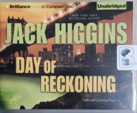 Day of Reckoning written by Jack Higgins performed by Michael Page on CD (Unabridged)