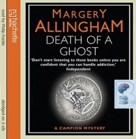 Death of a Ghost written by Margery Allingham performed by Philip Franks on CD (Abridged)