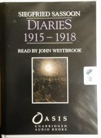 Diaries 1915-1918 written by Siegfried Sassoon performed by John Westbrook on Cassette (Unabridged)