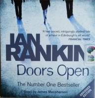 Doors Open written by Ian Rankin performed by James Macpherson on CD (Abridged)