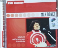 EMI Comedy - Max Boyce written by Max Boyce performed by Max Boyce on CD (Abridged)
