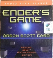 Ender's Game written by Orson Scott Card performed by Stefan Rudnicki, Harlan Ellison and Full Cast on CD (Unabridged)