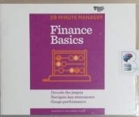 FInance Basics - 20 Minute Manager written by Harvard Business Review performed by James Edward Thomas on CD (Unabridged)