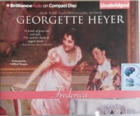 Frederica written by Georgette Heyer performed by Clifford Norgate on CD (Unabridged)