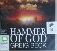 Hammer of God written by Greig Beck performed by Sean Mangan on CD (Unabridged)