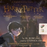 Harry Potter Collection Part 1 - Books 1 to 3 written by J.K. Rowling performed by Stephen Fry on CD (Unabridged)