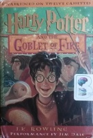 Harry Potter and The Goblet of Fire written by J.K. Rowling performed by Jim Dale on Cassette (Unabridged)