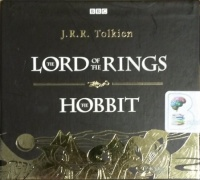 Hobbit and The Lord of The Rings written by J.R.R. Tolkien performed by BBC Full Cast Dramatisation, Ian Holm, Michael Hordern and Robert Stephens on CD (Abridged)