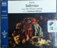 Inferno - from The Divine Comedy written by Dante performed by Heathcote Williams on CD (Unabridged)