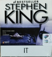 It written by Stephen King performed by Steven Weber on CD (Unabridged)