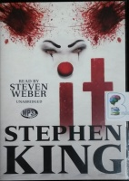 It written by Stephen King performed by Steven Weber on MP3 CD (Unabridged)