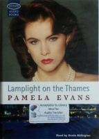 Lamplight on the Thames written by Pamela Evans performed by Annie Aldington on Cassette (Unabridged)