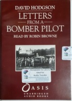 Letters from a Bomber Pilot written by David Hodgson performed by Robin Browne on Cassette (Unabridged)